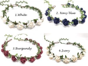 flower crown wedding style 1 collection